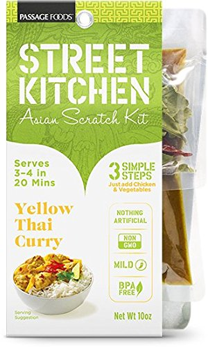 Street Kitchen Yellow Thai Curry Chicken Asian Scratch Kit 10 oz
