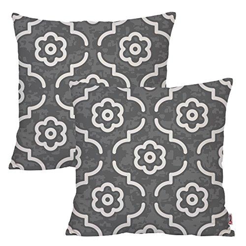 Queenie - 2 Pcs Geometric Morocco Pattern Digital Printing C