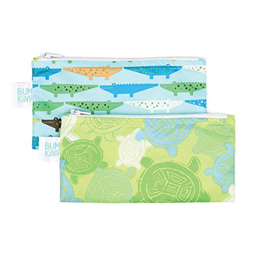 bumkins-reusable-snack-bag-small-2-pack-crocs-turtle-b2