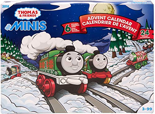 Thomas & Friends Fisher-Price MINIS, Advent Calendar [2018] (Christmas Advent Calendar)