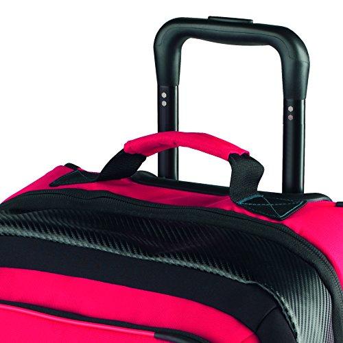 Atomic Damen/Herren Reisetasche, Piste, 85 l, 40 x 30 x 81 cm, Reißfest und wasserdicht, AL5021810, Ober- und Seitengriff, Redster Ski Gear Travel Bag, Rot