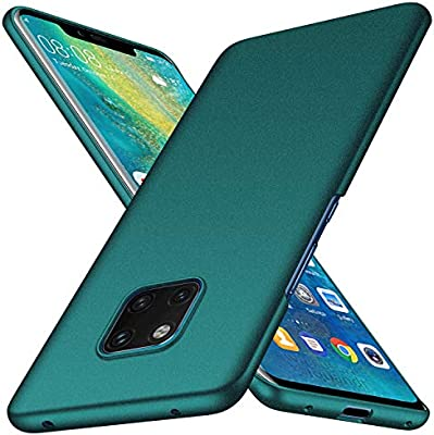 Almiao Huawei Mate 20 Pro Case, [Ultra-Thin] Minimalist Slim Protective Phone Case Back Cover for Huawei Mate 20 Pro (Gravel Green)