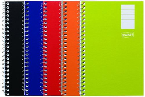 "Staples Side Bound Memo Books, 4"" x 6"""