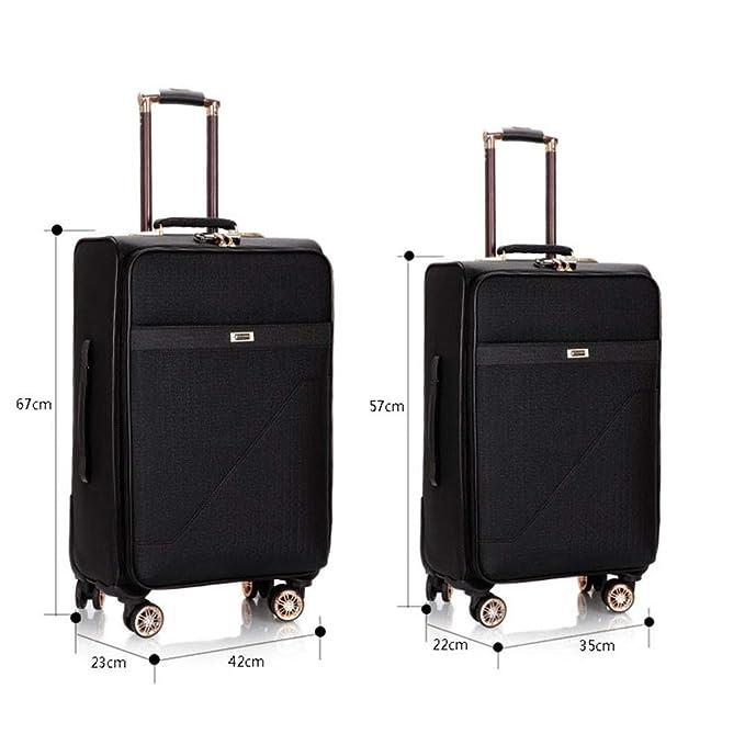 7e3f35349f35 Amazon.com: GJF Unisex Suitcase, Trolley Case, Universal Wheel ...