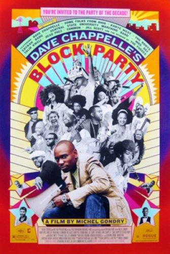 Block Party Single-Sided Regular 27X40 Dave Chappelle Erykah Badu Poster