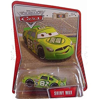 Disney / Pixar CARS Movie 1:55 Die Cast CarExclusive #82 Shiny Wax: Toys & Games