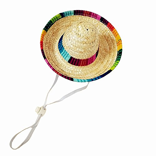 Crazy Night Mini Sombrero Top Hat Headband Fiesta Party Supplies]()