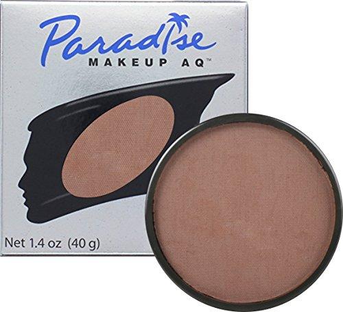 Mehron Makeup Paradise AQ Face & Body Paint, DARK BROWN: Basic Series – (Brown Body Paint Halloween)