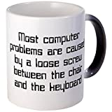 CafePress - Loose Screw Computer - Unique Coffee Mug, Coffee Cup