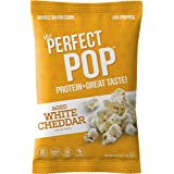 IPS Protein Popcorn | White Cheddar | 5 Ounce (Pack of 6)