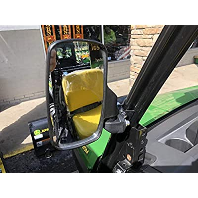 Heavy Duty Side View Mirror Sport Set fits John Deere Gator XUV835M & XUV865M from Maverick Advantage: Automotive