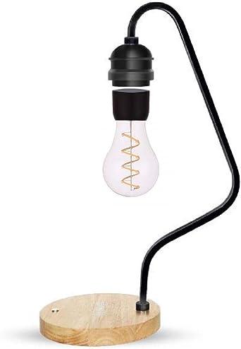 Lampe de bureau magnétique à lévitation avec Qi Chargeur