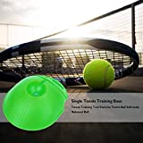 WF WU FANG Tennis Trainer Rebound Ball, Solo Tennis Trainer Ball with String, Tennis Training Tool, Tennis Trainer Rebounder Practice Equipment for Adults Kids