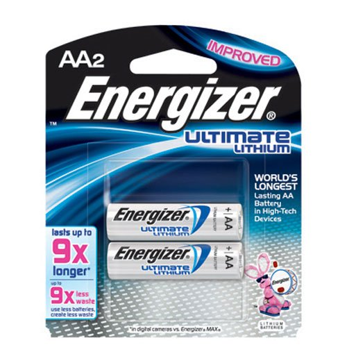 Energizer Lithium Batteries Lasts Longer