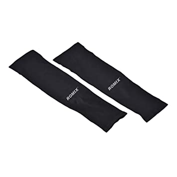 1pair Breathable Uv Protection Running Arm Sleeves Basketball Elbow Pad Fitness Quick Dry Armguards Sports Cycling Arm Warmers Running Arm Warmers Running