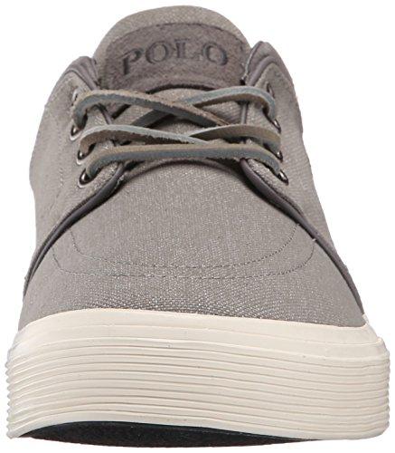 Polo Ralph Lauren Heren Faxon Lage Sneaker Lichtgrijs