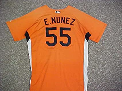 151348c8d48 Eduardo Nunez Baltimore Orioles Orange Spring Training Jersey at ...