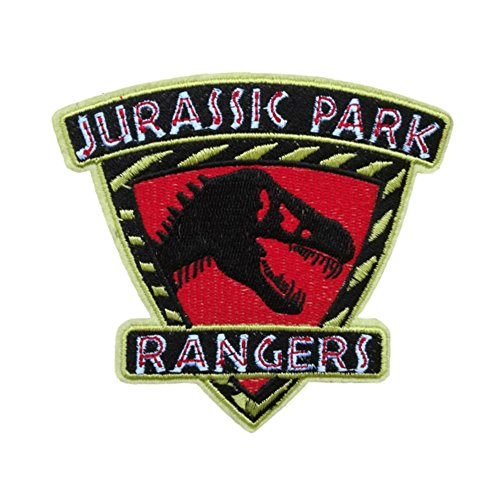 Blue Heron Jurassic Park Ranger Shield Embroidered Iron/Sew-on Applique (Galaxy Rangers Costume)