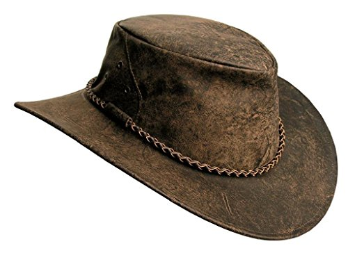 Kangaroo Leather Hat Narabeen Made In Australia by KakaduTraders Australia
