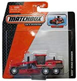 Matchbox 2014 On a Mission: Red/Black Mbx Road Grader - Rotating Tires