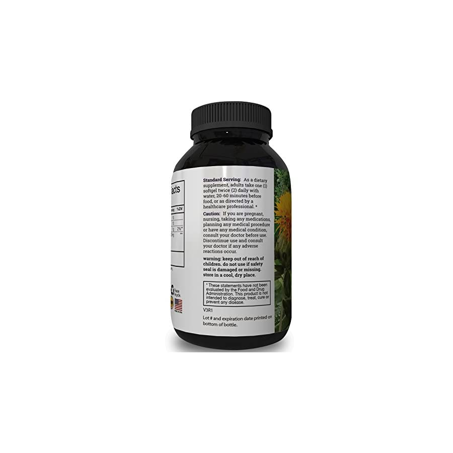 Griffith Natural Pure Conjugated Linoleic Acid Supplement Softgels CLA Safflower Oil Omega 6 Burn Belly Fat Reduce Weight Best Bodybuilding Workout Booster Increase Metabolism Formula for Men and Women
