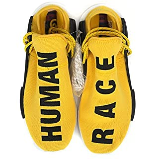 huge discount 6b78a 028dc Pharrell Williams NMD Human Race Shoes (5 Men, Yellow ...