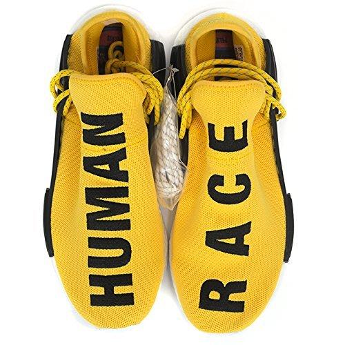 huge discount e1d43 5982b Pharrell Williams NMD Human Race Shoes (5 Men, Yellow ...