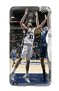 3001464K698394077 memphis grizzlies nba basketball (4) NBA Sports & Colleges colorful Note 3 cases