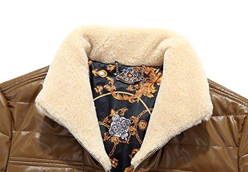 Parka Giù Dell'unità Kaki Inverno Spessore Riempimento 90 Elaborazione Mens Casual Ricoprono Cuoio Antivento Il Yyzyy Bianca Caldo Di Outerwear Esterno Giacca Anatra pRgxFqnwW