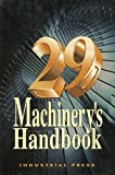Machinery's Handbook 29th Edition - Large Print (Machinery's Handbook (Large Print))