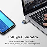 C356 USB-C MicroSD Card Reader with USB 3.0 Super