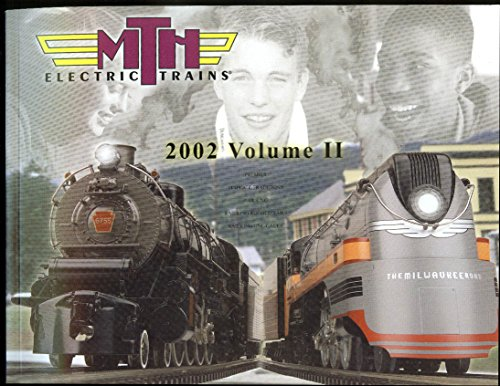 MTH Electric Trains catalog 2002 V2 RailKing Premier Tinplate