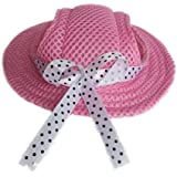 Evergreens Princess Style Pet Dogs Hat (Pink)