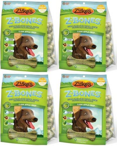 Zukes Z-Bones Edible Dental Chews Regular Apple Crisp 3lb