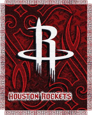NBA Triple Woven Jacquard Throw NBA Team: Houston Rockets Bulldogs Triple Woven Throw