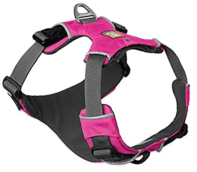 Ruffwear Pink Front Range Dog Harness ? All Day Training Adjustable Adventure Harness ? All Sizes
