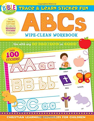 Trace Learn Sticker Fun Wipe Clean product image