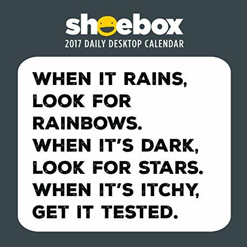 Price comparison product image 2017 Shoebox by Hallmark Daily Desktop Calendar