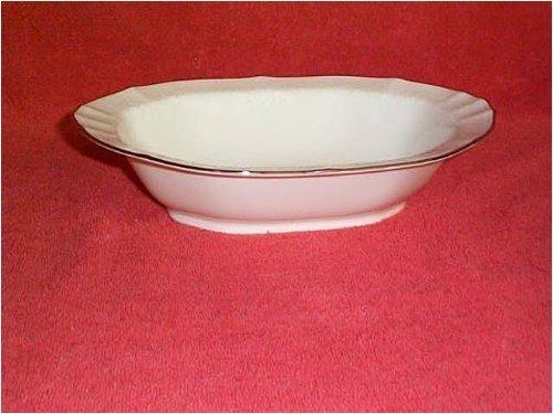 - Noritake Chandon Platinum Oval Vegetable Bowl by Noritake