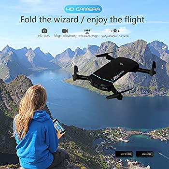 0.3MP 6-Axis RC Drone Quadcopter, Oldeagle Portable Foldable Mini 2.4G HD Camera WiFi FPV RC Quadcopter Drone Selfie Helicopter