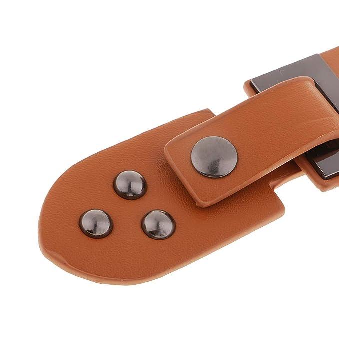 Goldene PU-Leder Schnalle mit Haken und Ösen knöpfen für