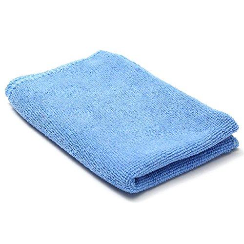 40 Dusters (Microfiber Towel Blue Cars Trucks Boats Cleaning Detailing Soft Polish Cloths Towels Duster Blue Bulk Pack 30cm x 40cm)