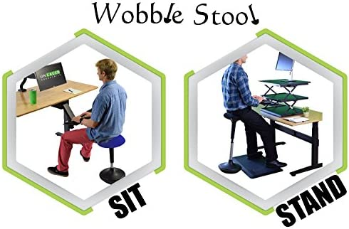 Brilliant New Wobble Stool Adjustable Height Active Sitting Balance Perching Chair For Office Standing Desk Best Tall Swivel Ergonomic Stability Sit Stand Up Download Free Architecture Designs Grimeyleaguecom