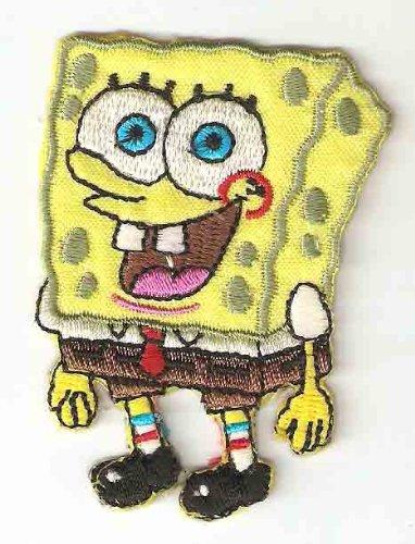 Amazon Spongebob Squarepants Embroidered Iron On Sew On Patch
