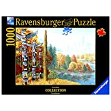 Ravensburger - When 2 Worlds Collide -1000 Piece Puzzle Canadian Collection Canadienne