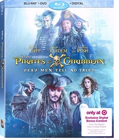 Pirates Of The Caribbean  Dead Men Tell No Tales Target Exclusive Edition