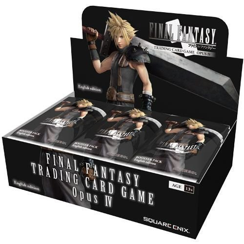 (Final Fantasy TCG: Opus IV Collection Booster Display)