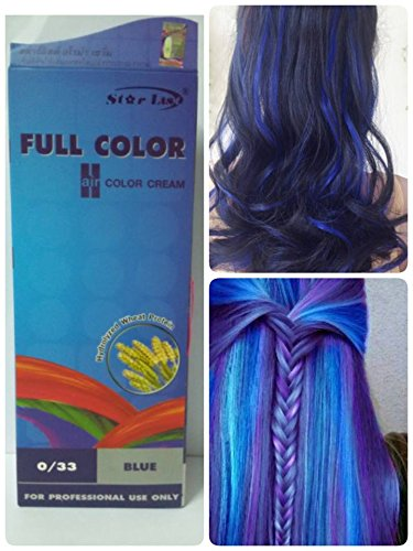 light blue hair dye with bleach - 4