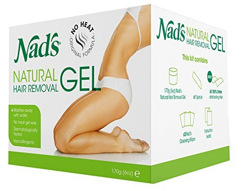 Nad's Natural Hair Removal Gel Refill for Kit No Heating Waxing by NAD'S