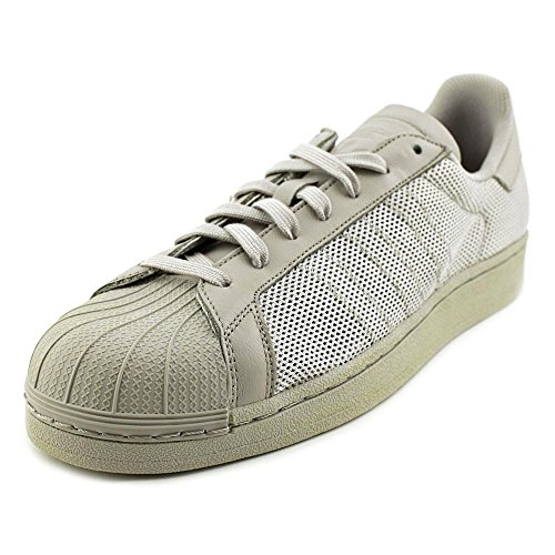 Adidas Superstar Triple Men US 10.5 Gray Sneakers (Mens Star Triple Adidas)